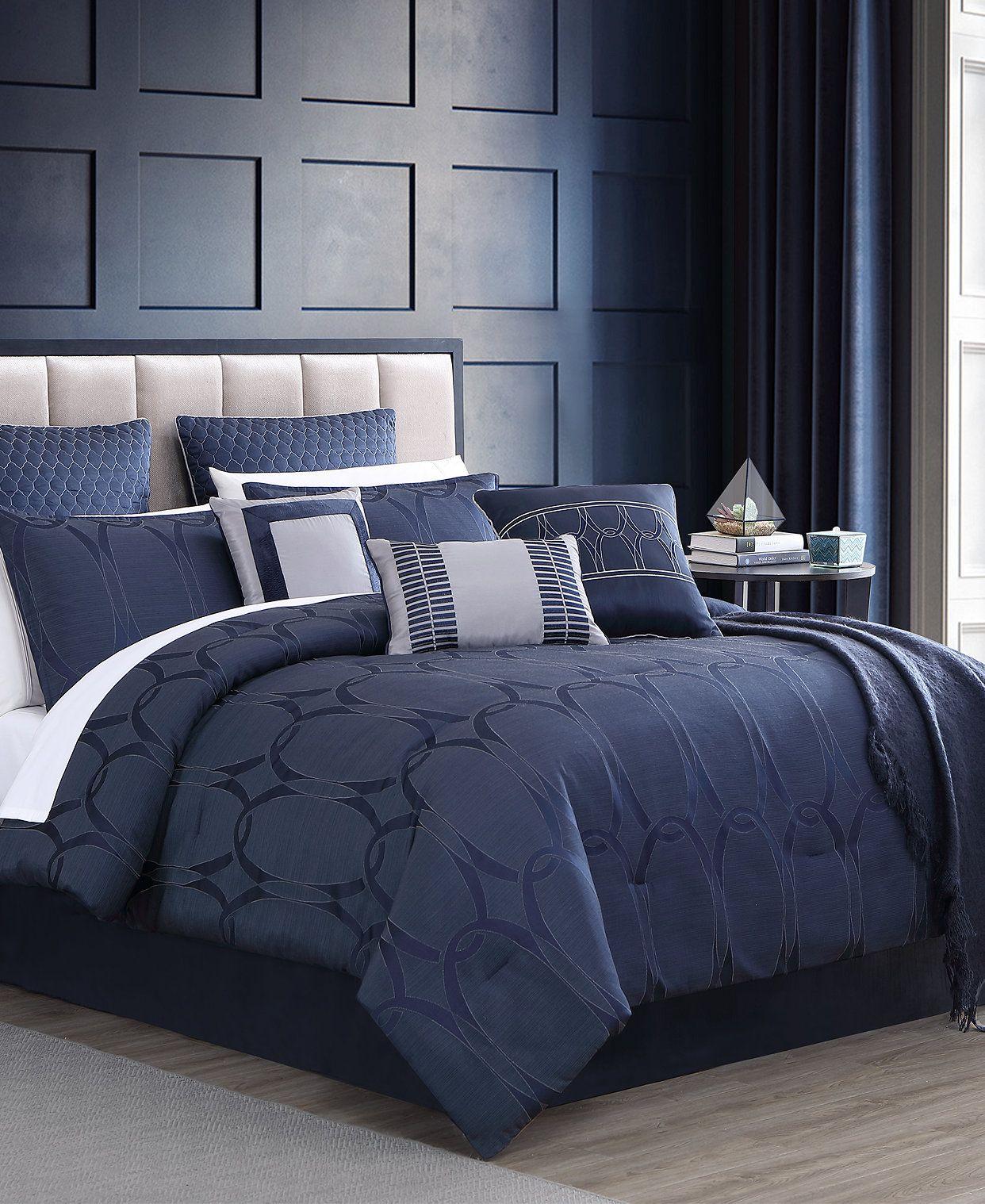 Hallmart Collectibles Closeout Danslo 14 Pc King Comforter Set Reviews Comforter Sets Bed Bath Macy S Comforter Sets King Comforter Sets Queen Comforter Sets