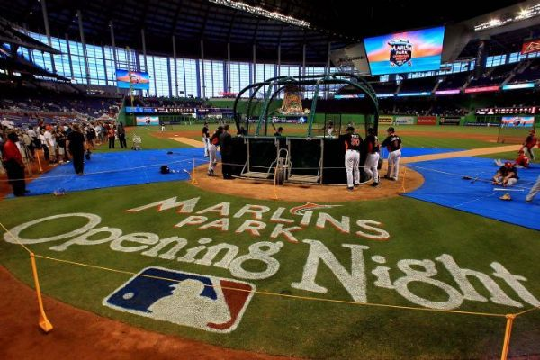 Marlins Park Opening Night Palm Beach Post Marlins Sports