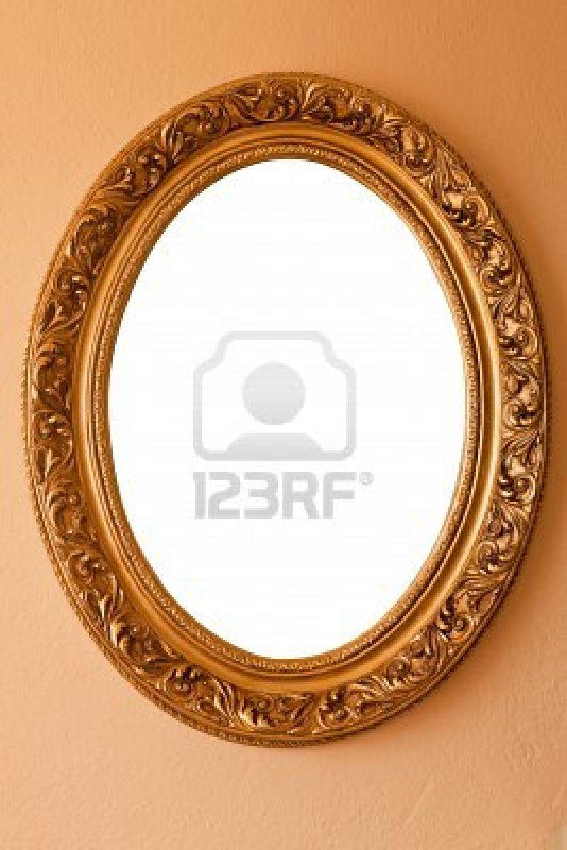color-dorado-marco-ovalado | [ P ] La Abuelita | Pinterest | Marcos ...