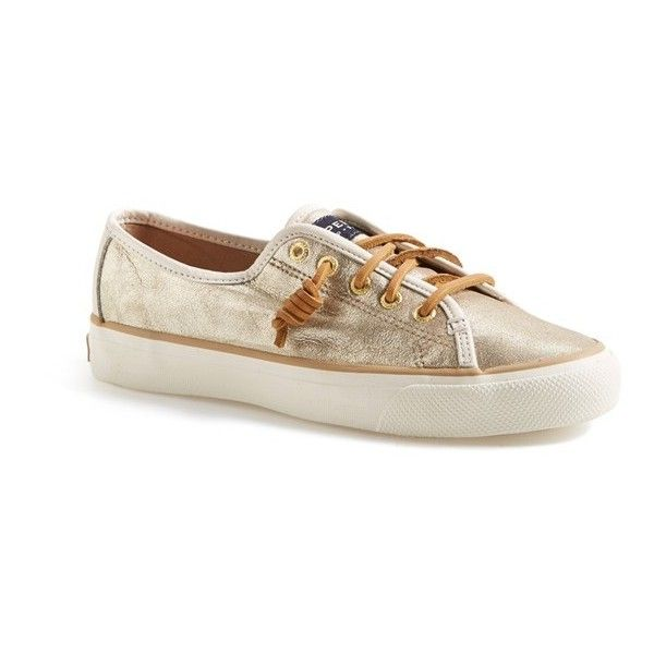 4bc6c3ae36f Sperry  Seacoast  Boat Shoe (115 AUD) ❤ liked on Polyvore featuring shoes