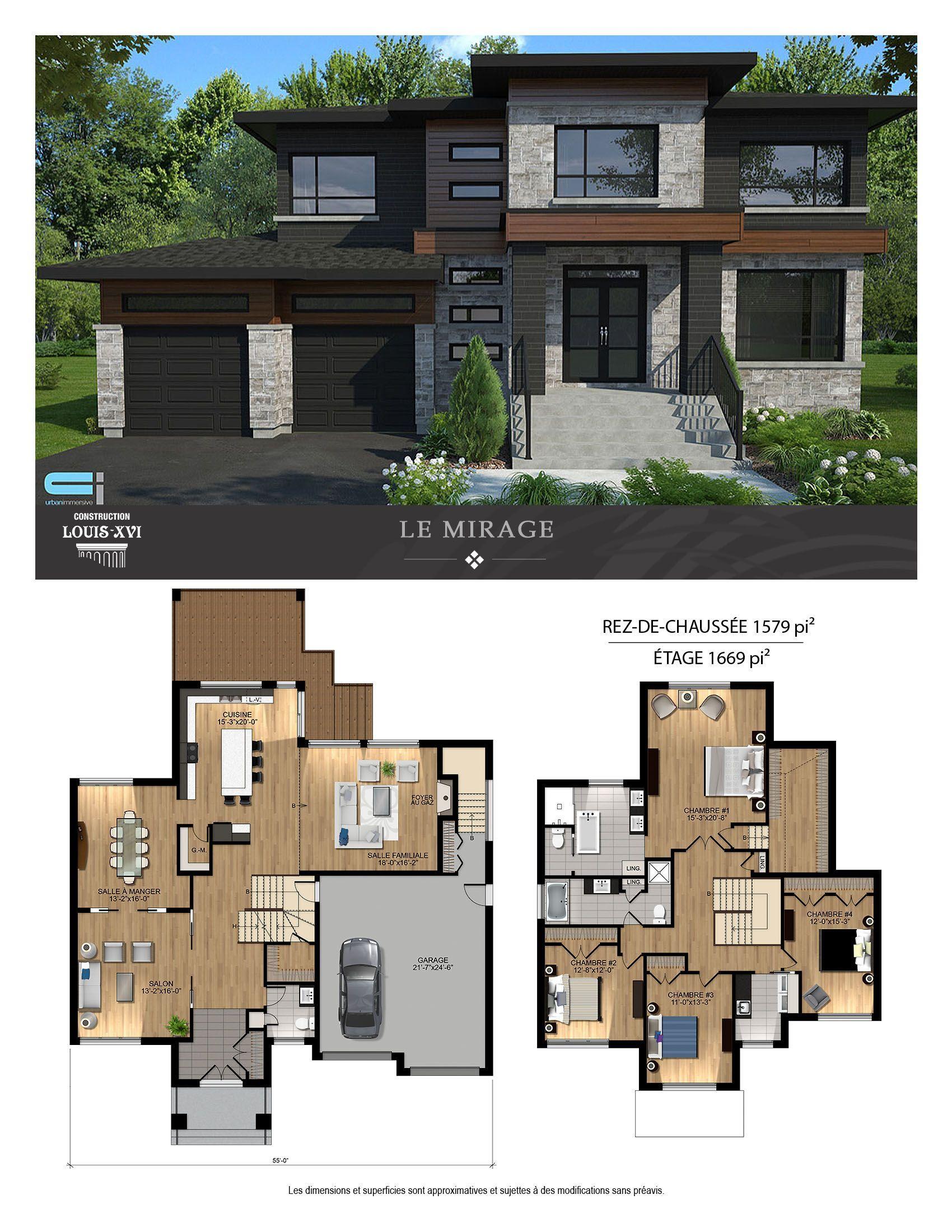 Blainville propriétés neuves maisons à vendre
