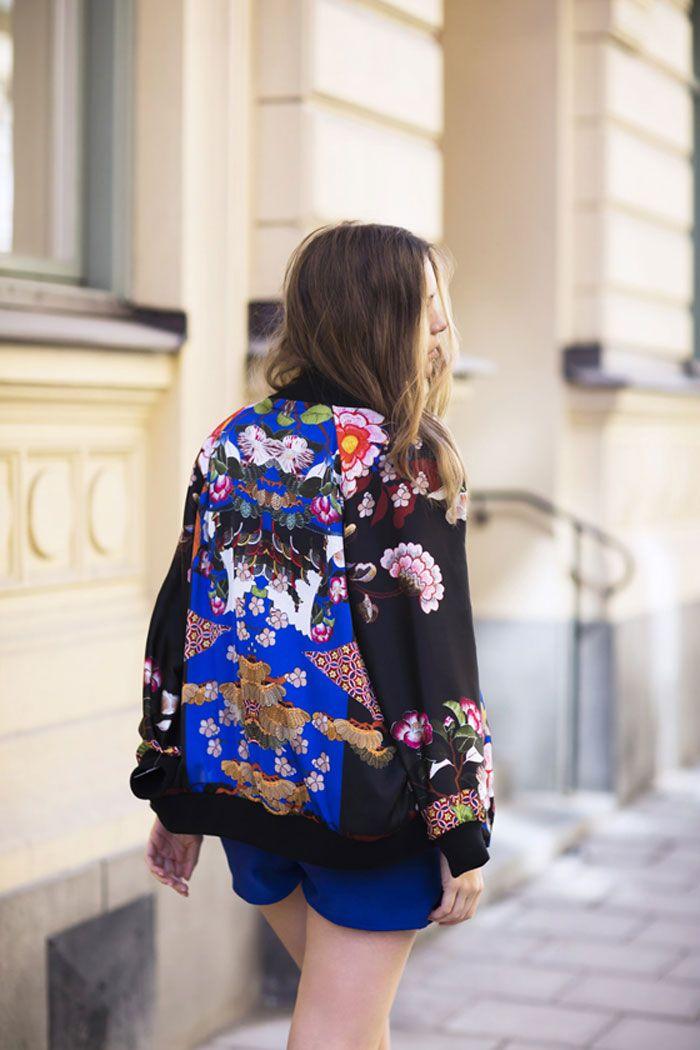 Oriental printed jacket, ZARA