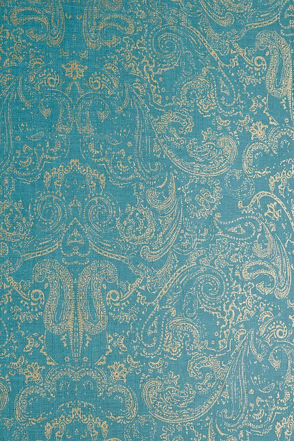 Distressed Paisley Wallpaper Paisley wallpaper, Powder