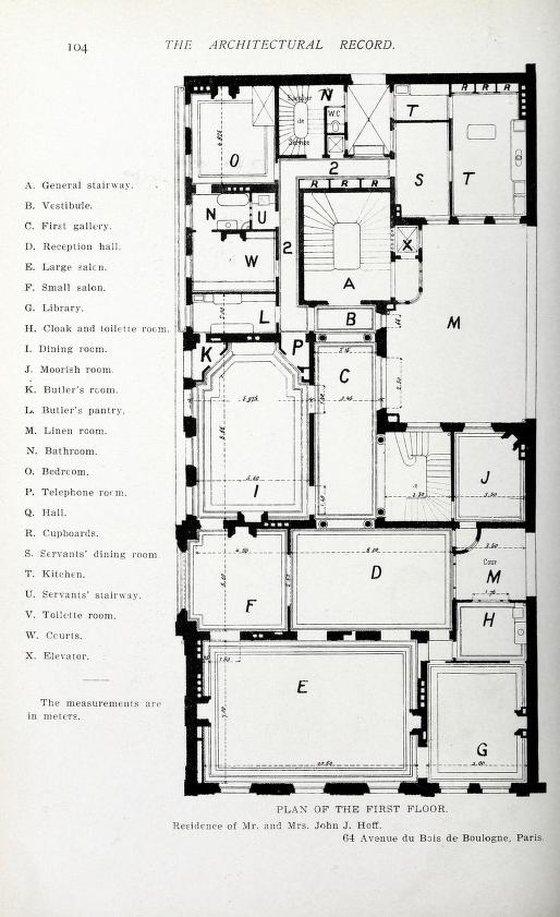 Architectural Record Free Download Borrow And Streaming Internet Archive Architectural Floor Plans Hotel Floor Plan Mansion Floor Plan