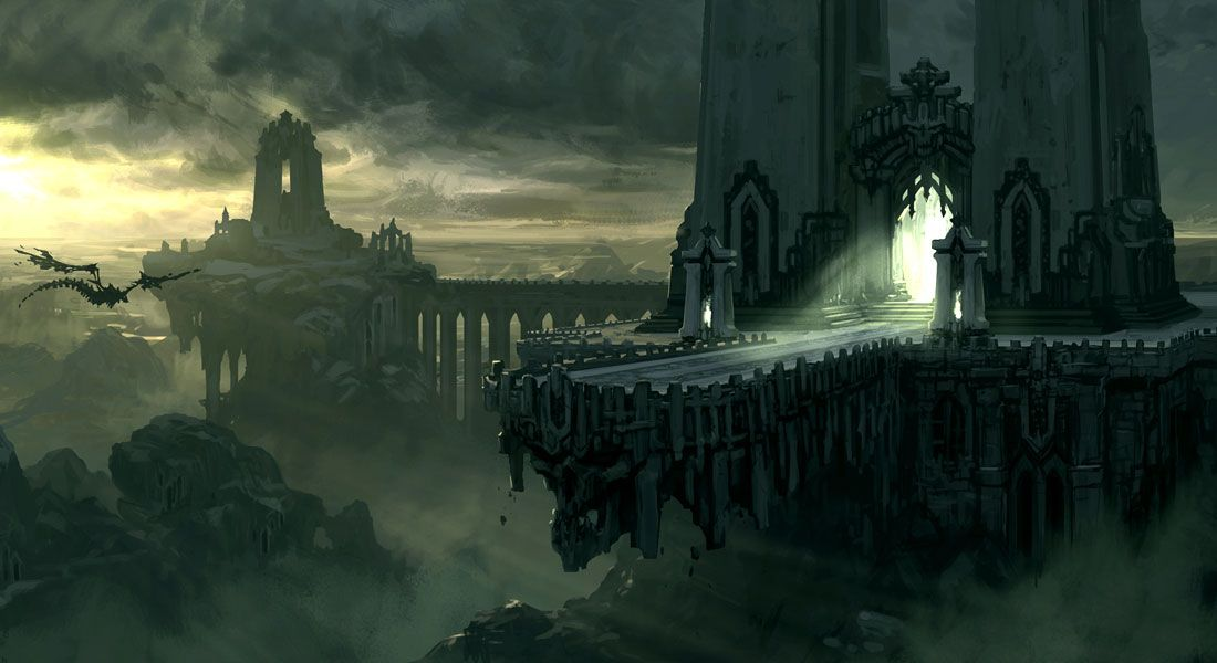 Dead Plains Bridge - Characters & Art - Darksiders II