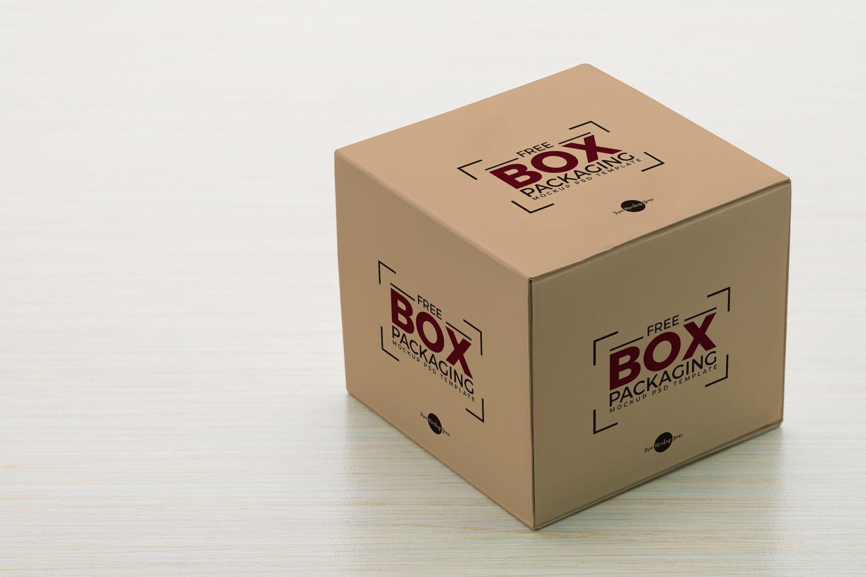 Download Ознакомьтесь с этим проектом @Behance: «Free Box Packaging ...