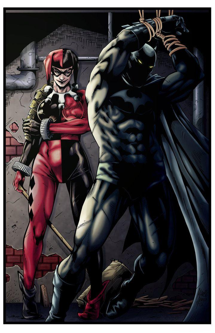 Batman és harley quinn pornó képregény