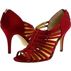 Nine West - Rogera - Dark Red Satin