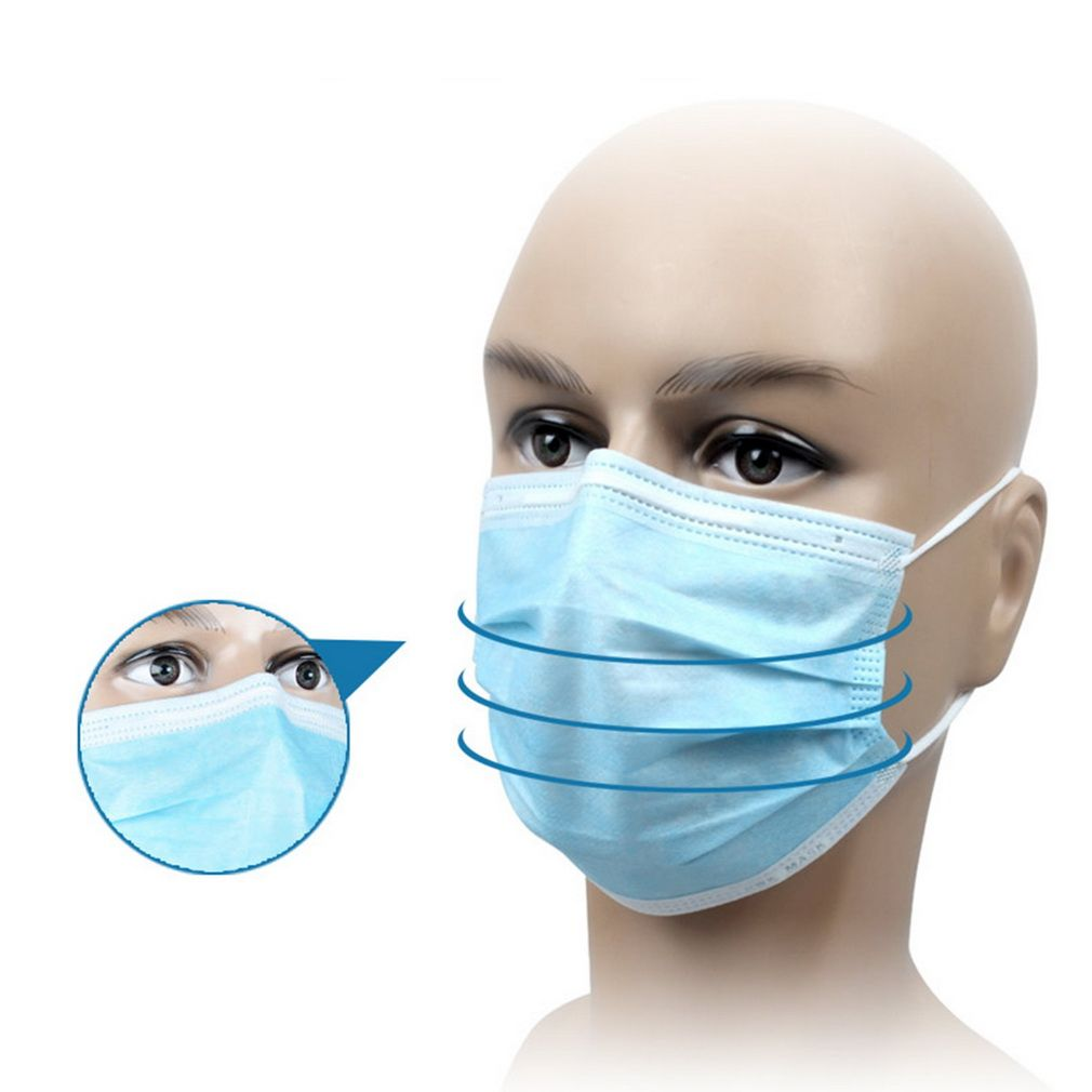 disposable face masks with ear loops