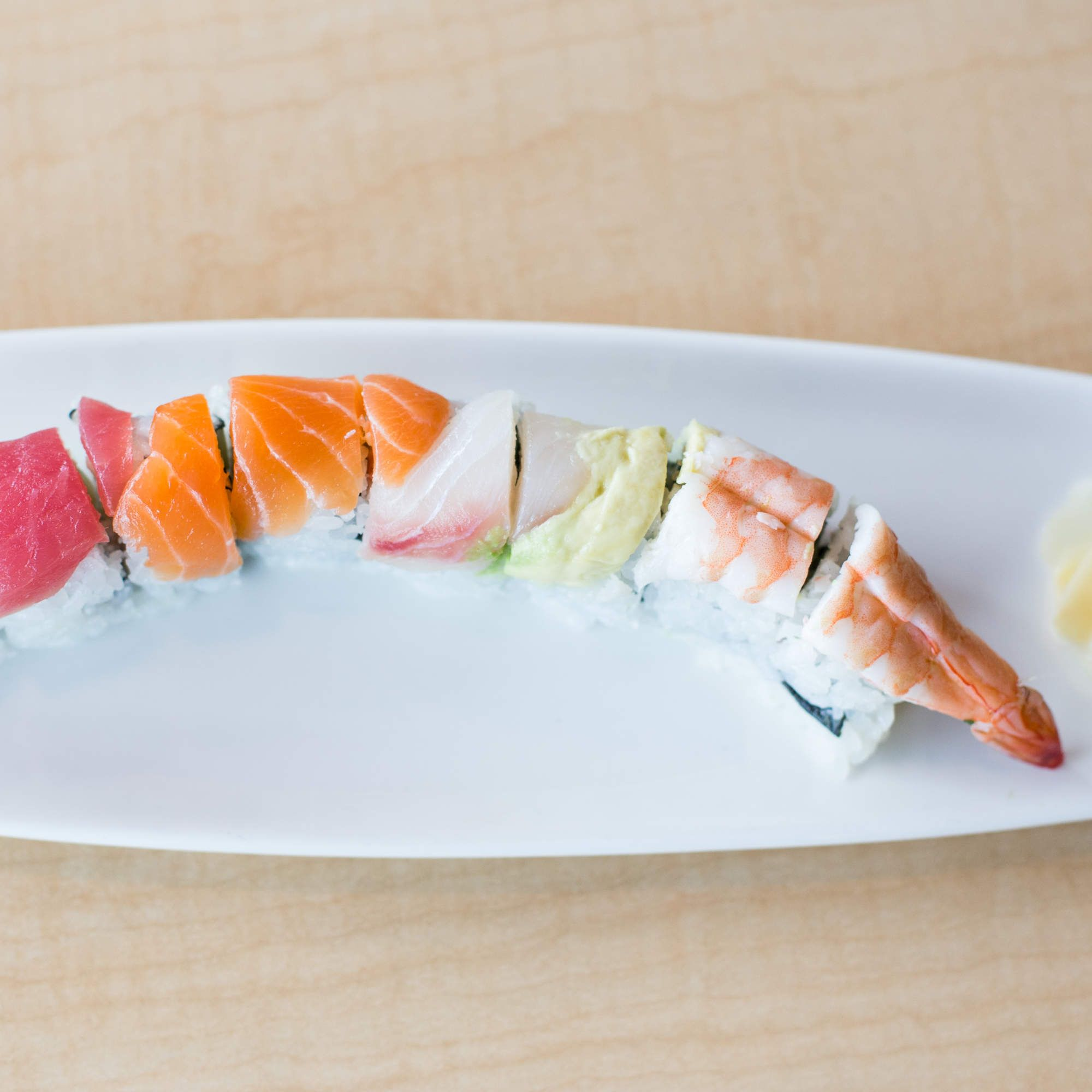The 9 Most Popular Sushi Rolls - rainbow roll   http://naperville.shintoexperience.com/
