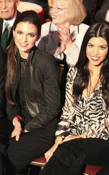 Kourtney Kardashian wearing Fifteen Twenty