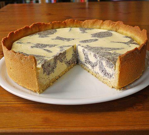 Mohn Quark Fleckerl Kuchen Kuchen Dessert Kuchen Kuchen