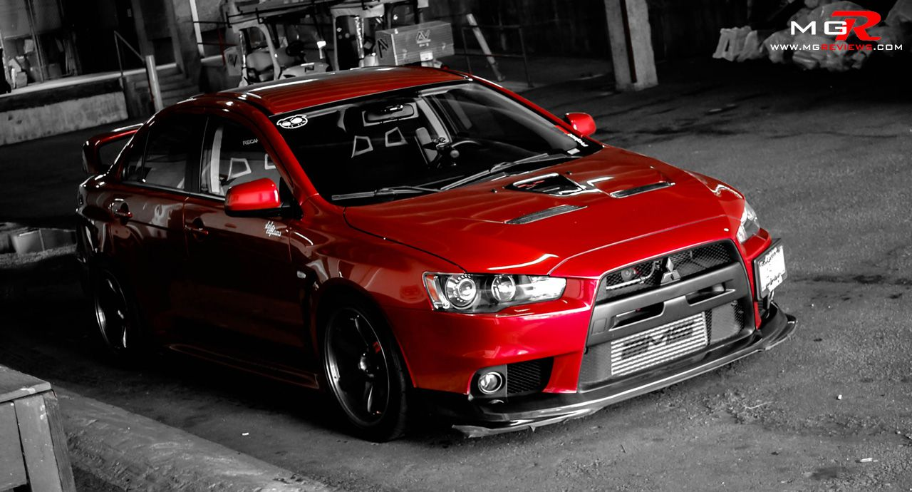 Review 2010 mitsubishi lancer evolution x gsr modified mppsociety by mike ginsca performance bolt on parts are the most popular type of modification