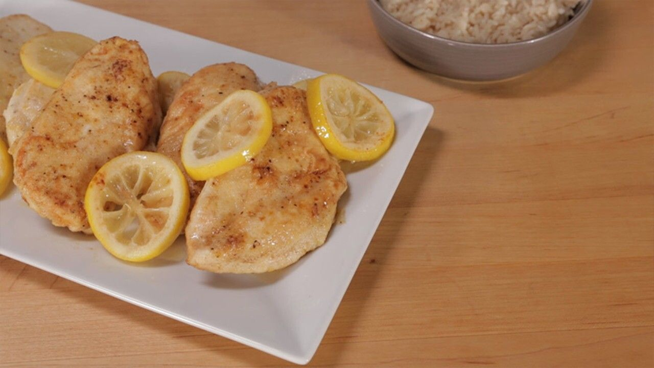 Lemon Butter Chicken Breasts -  Lemon Butter Chicken Breasts | Better Homes & Gardens  -