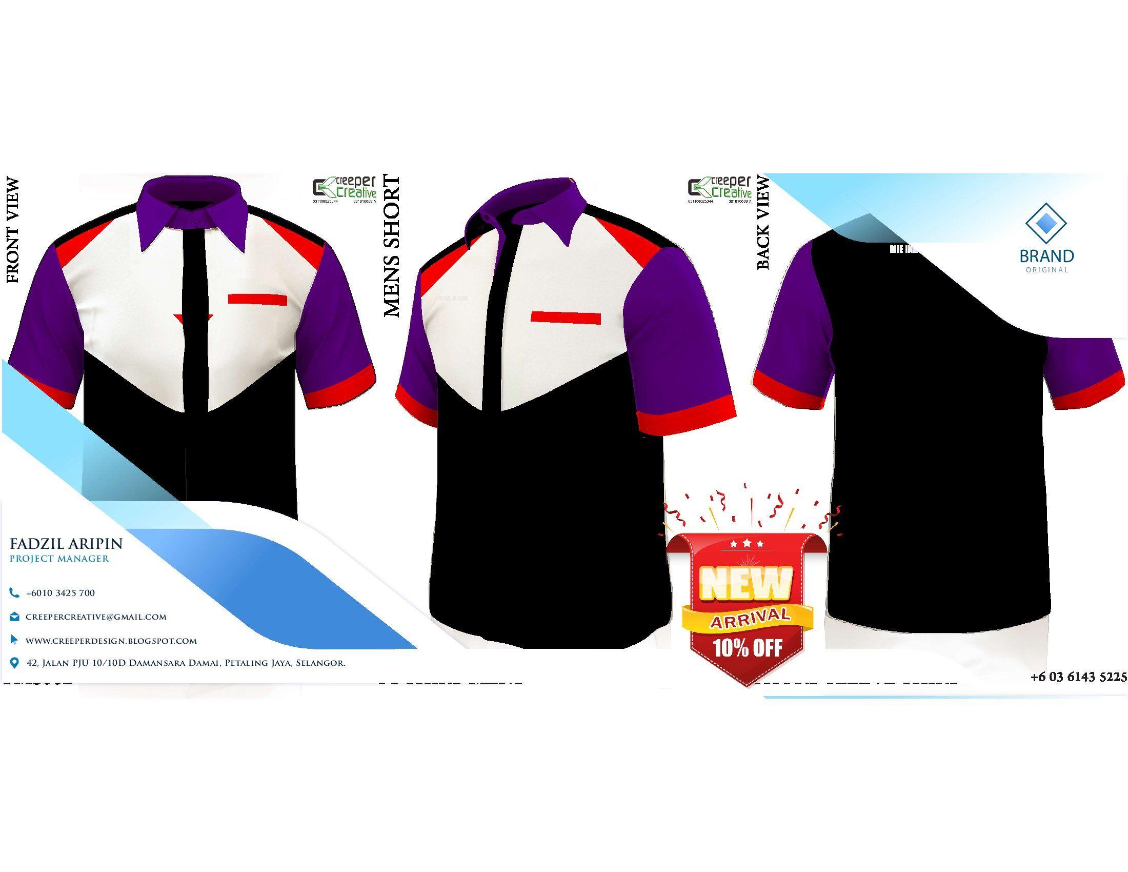 Pilihan Custom Made Design, Baju Korporat Wanita Lengan