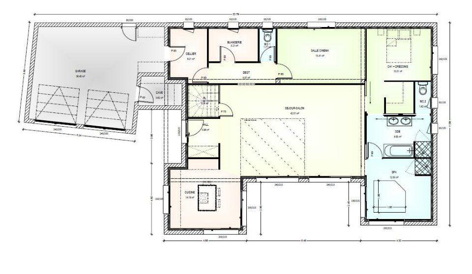 Découvrez gratuitement les plans du0027une maison à construire  Avant