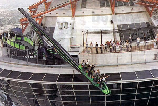 X-scream Roller Coaster, Stratosphere Tower, Las Vegas ...
