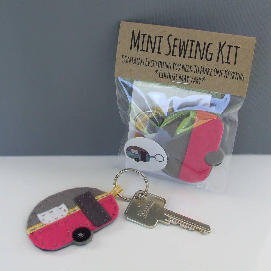 Mini Caravan Keyring Kit