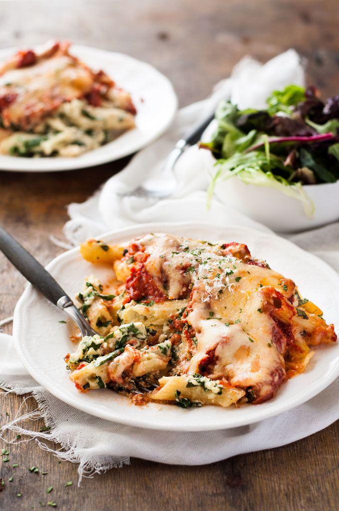 Spinach Ricotta Pasta Bake Recipe Ricotta Pasta Bake Recipetin Eats Yummy Pasta Recipes