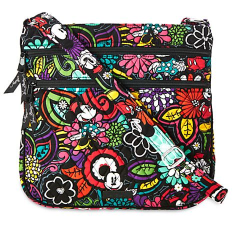 Mickey\'s Magical Blooms Hipster Bag by Vera Bradley | Disney Store ...