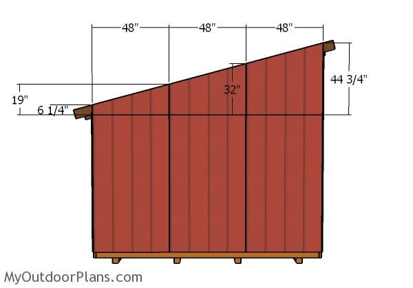 12x16 Lean To Shed Roof Plans Myoutdoorplans Free Woodworking Plans And Projects Diy Shed Wooden Playhouse Lean To Shed Wood Shed Plans Shed Plans 12x16