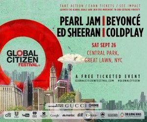 Global Citizen Poster