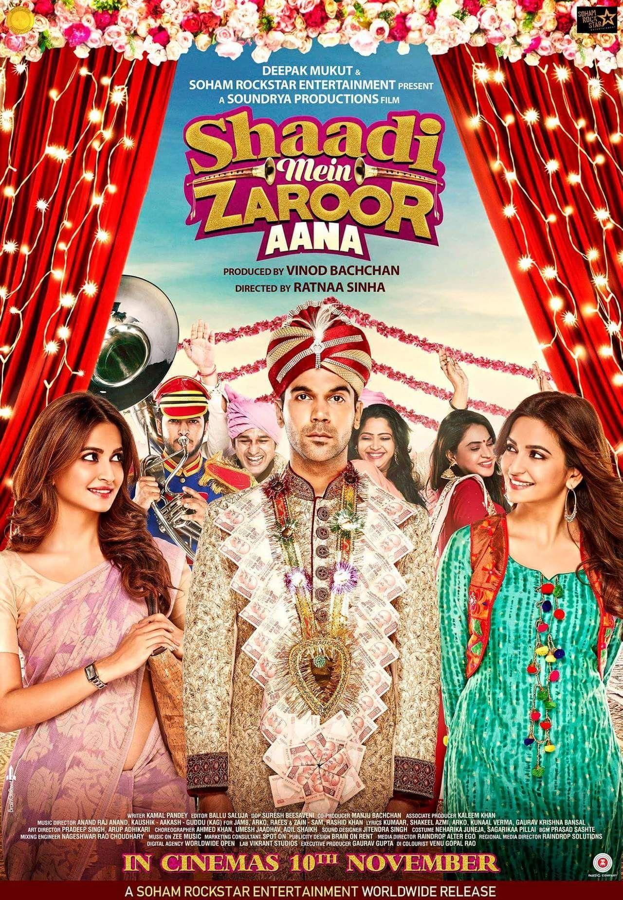 Shaadi Mein Zaroor Aana (2017) Hindi 720p 1GB WEBRip