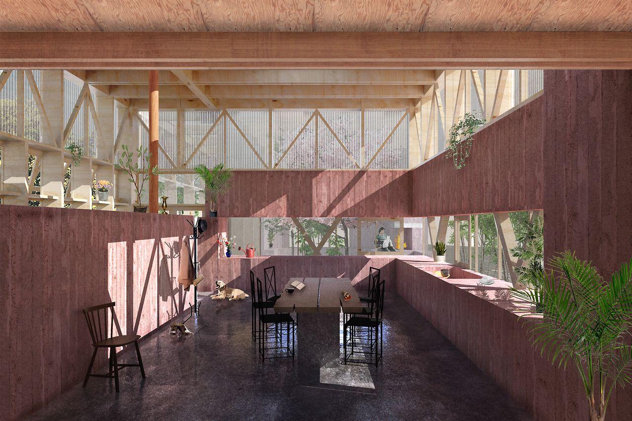 The Communal Dining Hall, Matthew Kernan | arquitecturaevolution ...