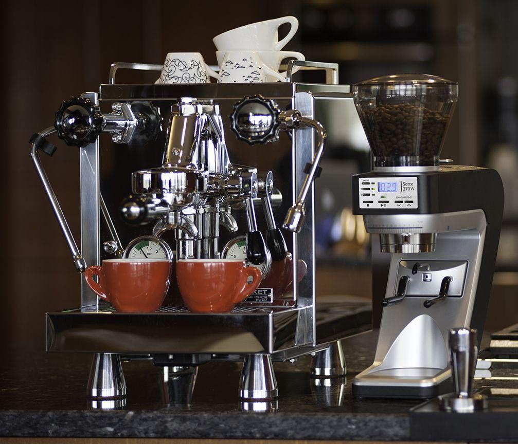 Sette 270W Rocket espresso, Grinder, Espresso machine