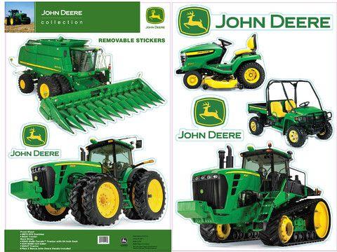 john deere equipment wall decals – greentoys4u | sawyer's john