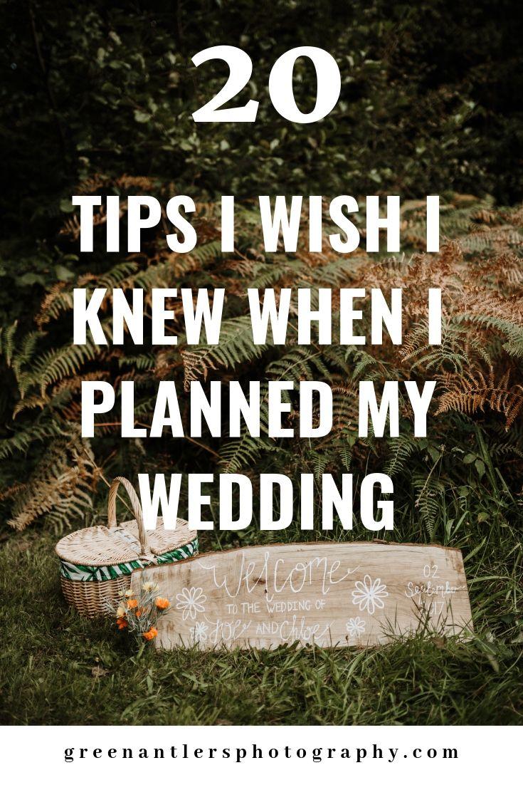 Photo of 20 Tips I Wish I Knew When I Planned My Wedding