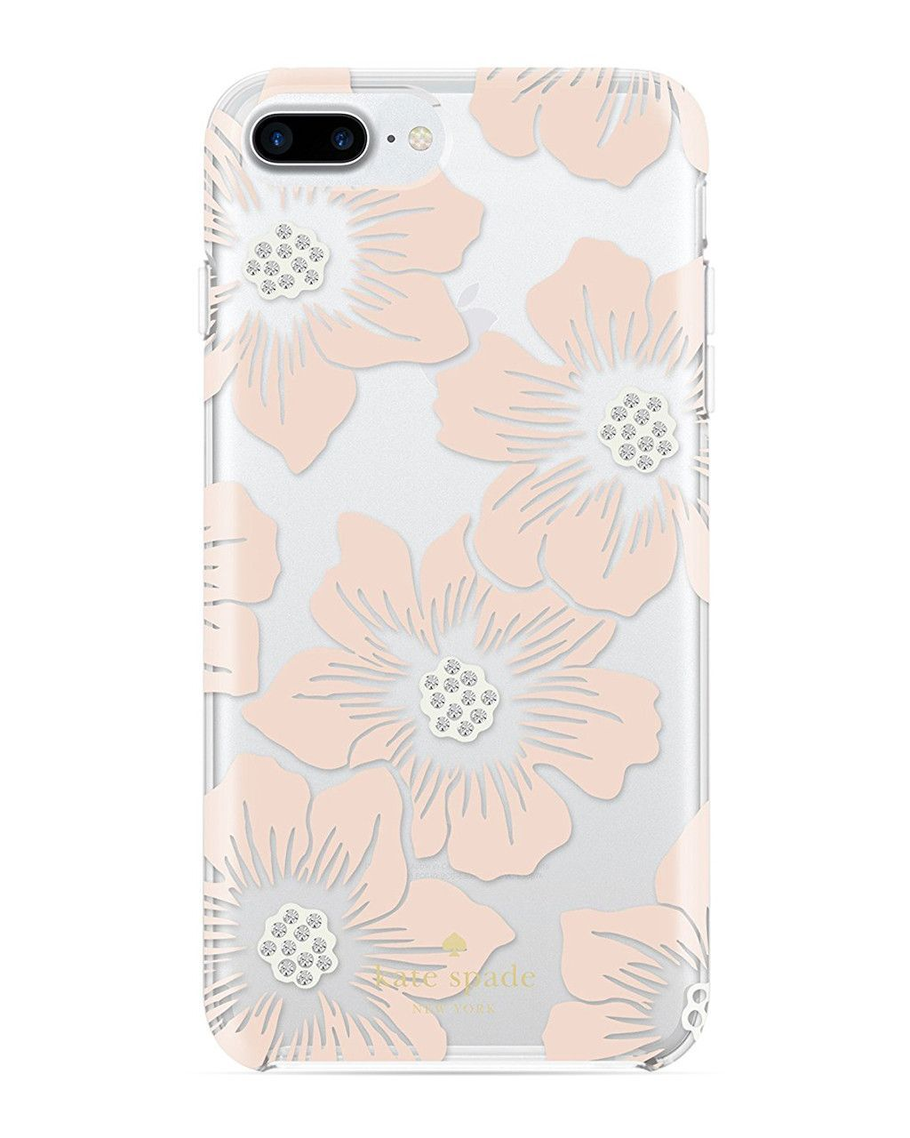 on sale a46fa d3935 Kate Spade Pink Sand/Stones/Hollyhock Floral Phone Case for iPhone 7 ...