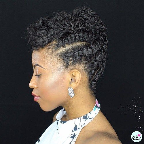 75 Most Inspiring Natural Hairstyles for Short Hai
