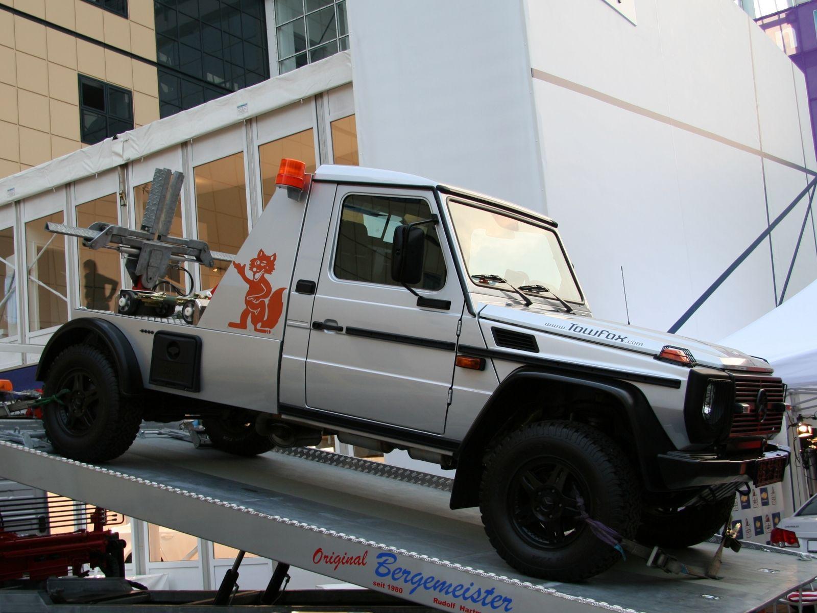 mercedes benz g modell bergefahrzeug towing platform. Black Bedroom Furniture Sets. Home Design Ideas