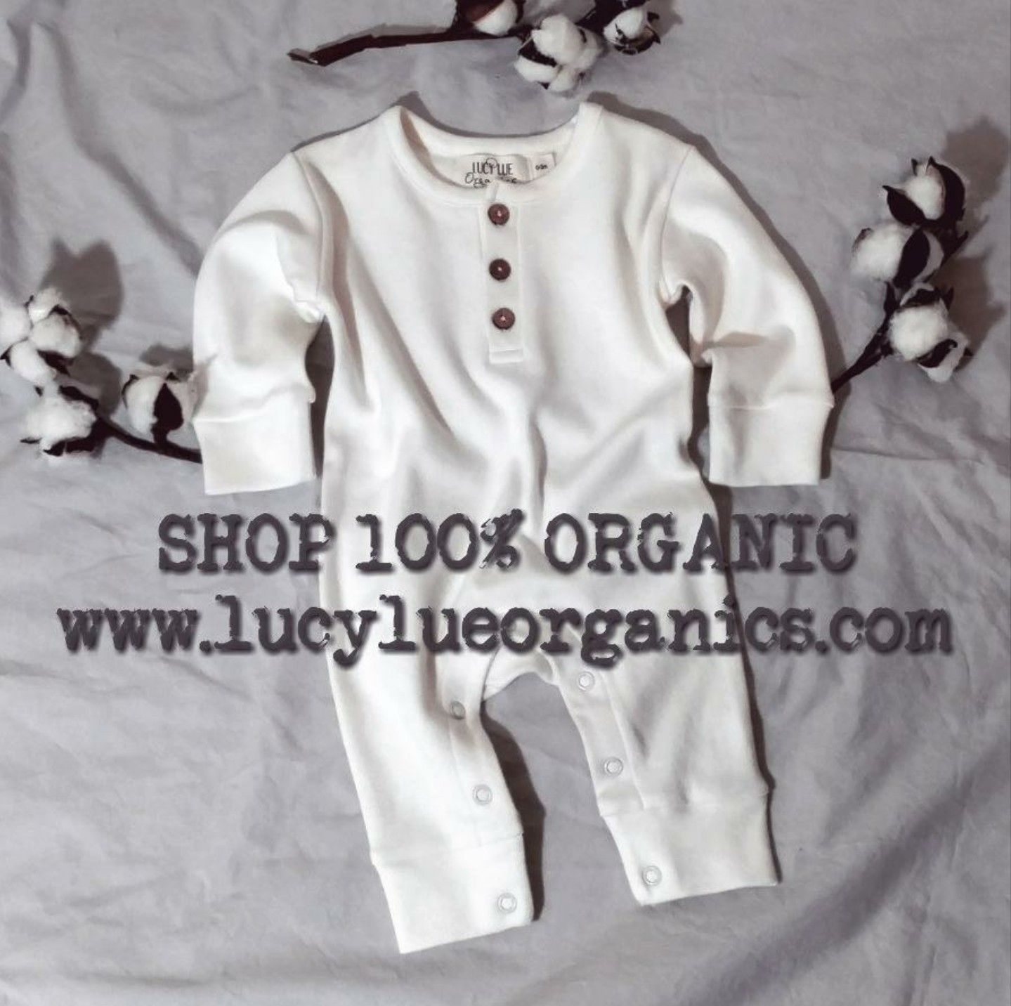 Shop Organic Cotton baby styles from LUCY LUE ORGANICS Baby