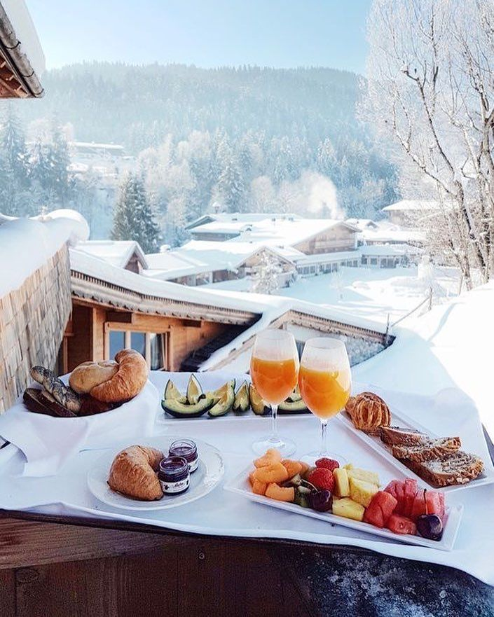 Картинки утро завтрак зима