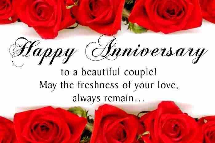 65 Best Wedding Anniversary Wishes For Wife Wishesmsg