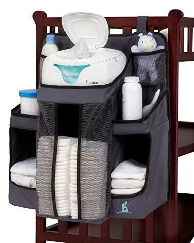 Nursery Organizer and Baby Diaper | Hanging Diaper Organization ...