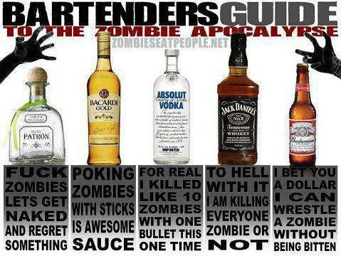 Zombie Drinking Guide