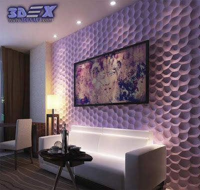 decorative 3d gypsum wall panels, plaster wall paneling design ideas ...