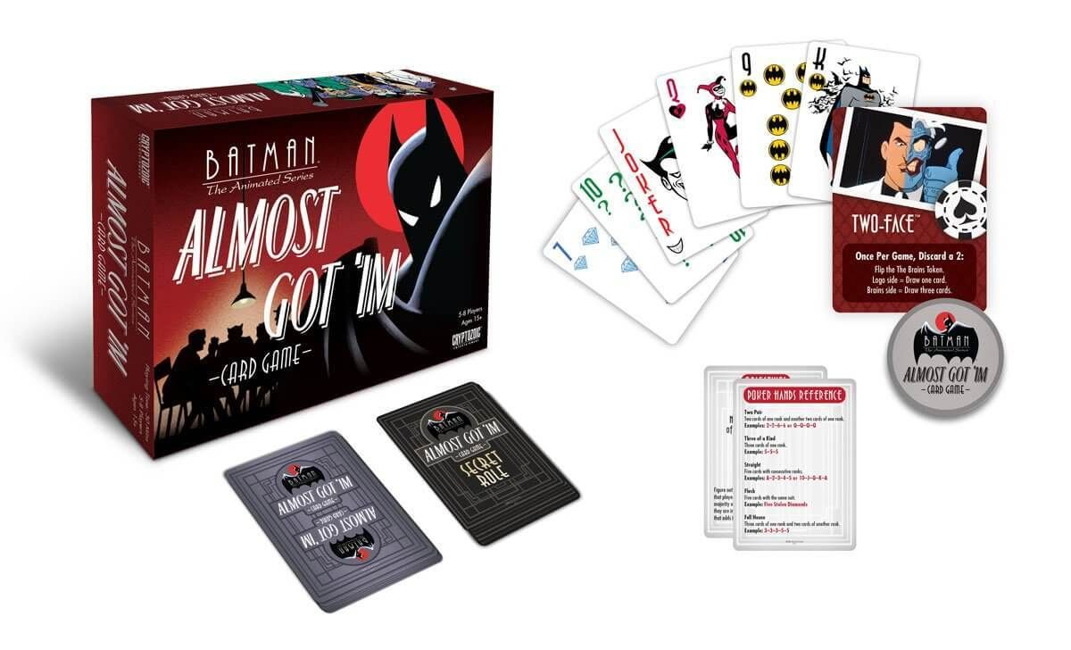 Batman the animated series almost got im card game