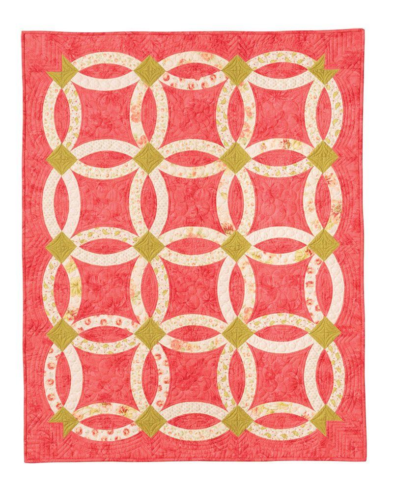 Nouveau Wedding Ring Quilt Eleanor Burns Signature Quilt Pattern