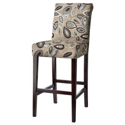 Avington Bar Stool Paisley Leaf Bar Stools Home Goods Decor Upholstered Bar Stools