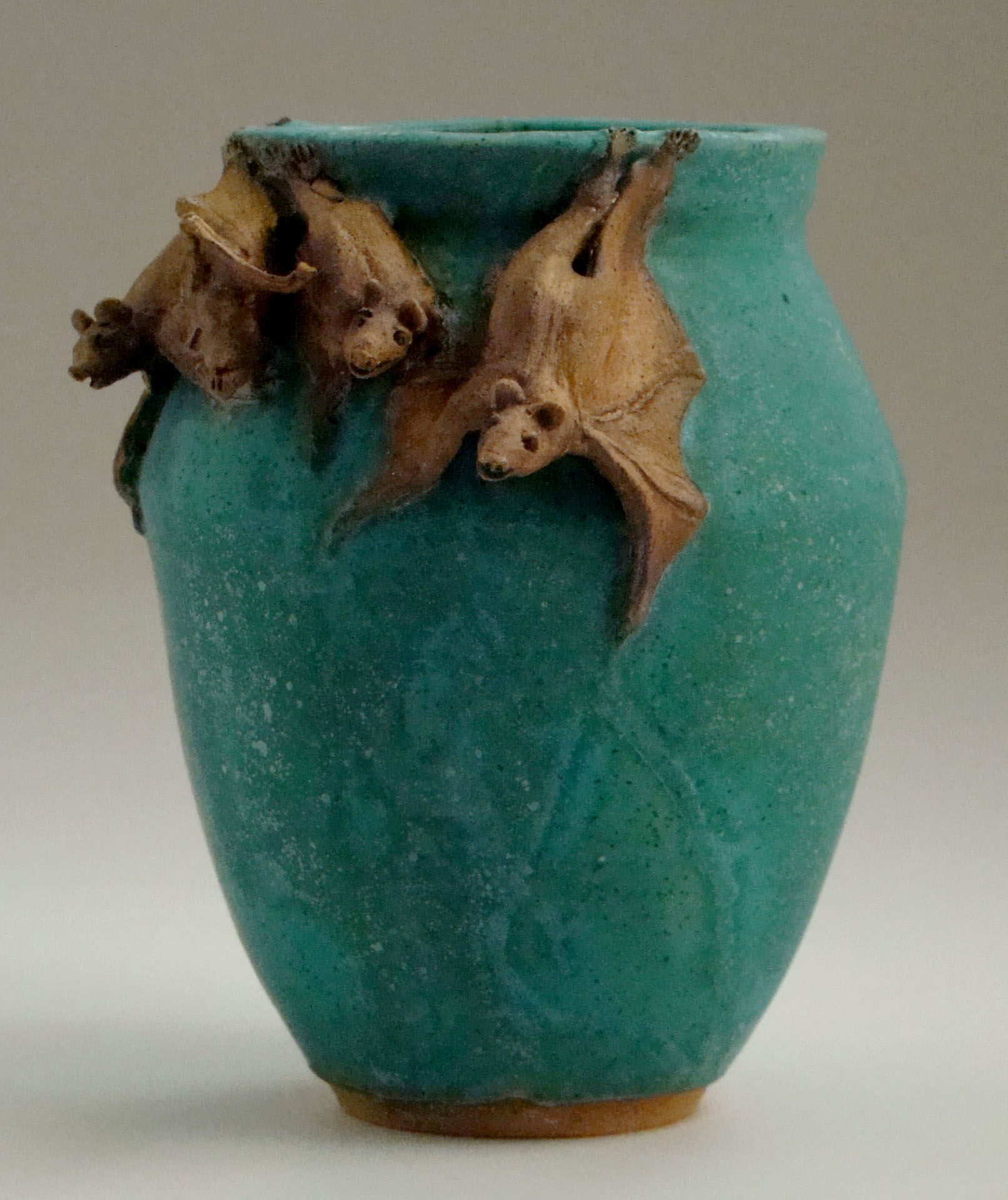 Hanging Out Bat Vase By Stormie Parker
