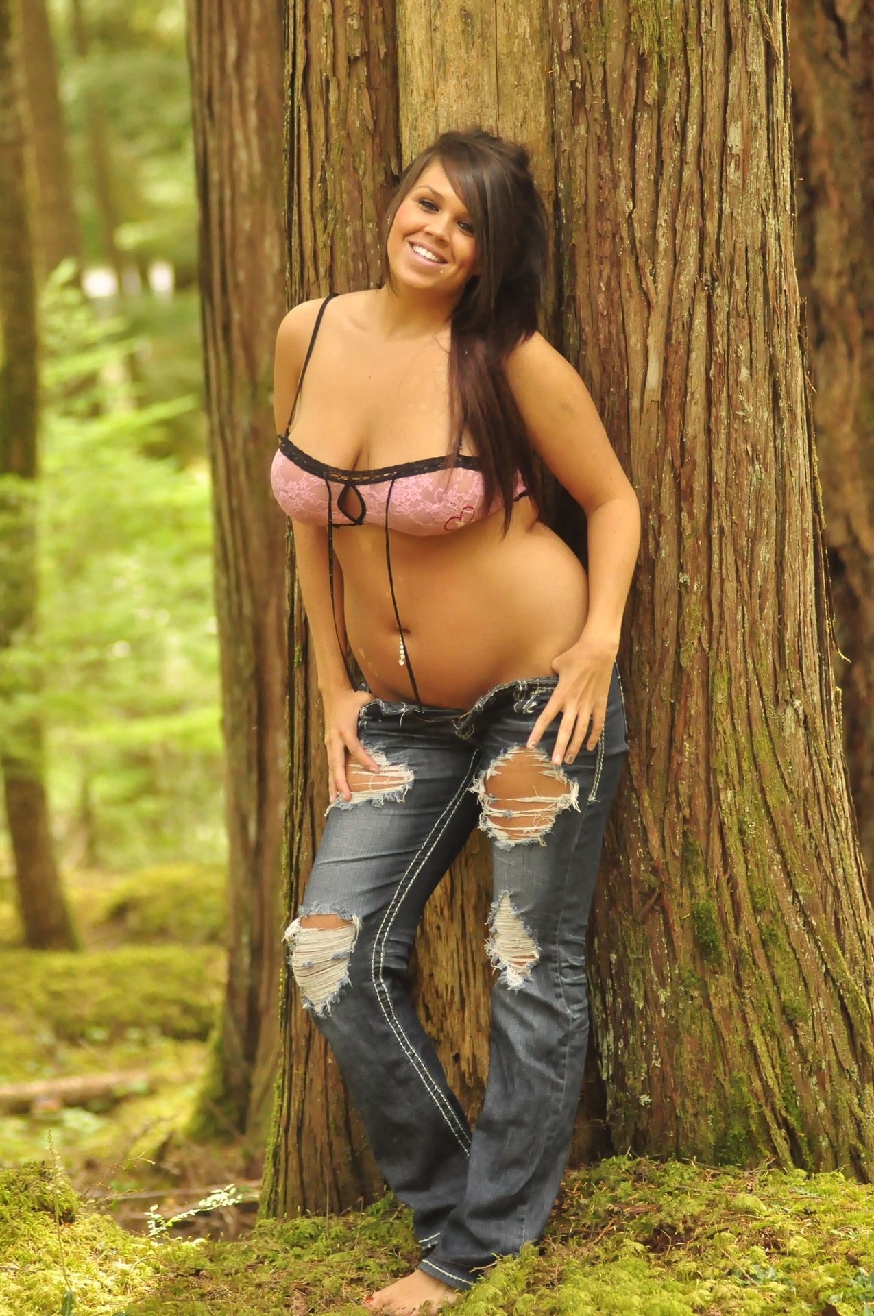Sexy ebony nude models
