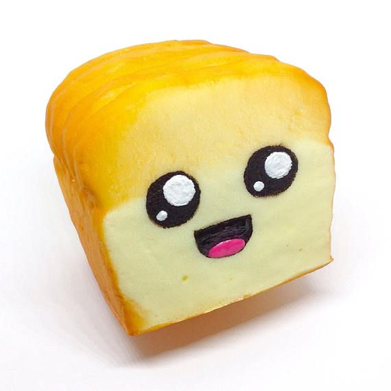 Outstanding Jumbo Slow Rise Bread Loaf Kawaii Face Squishy Hand Download Free Architecture Designs Terstmadebymaigaardcom