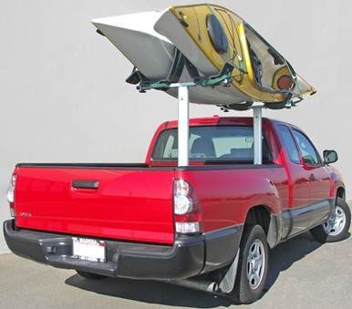 You Won T Need Two Truck Kayak Racks To Carry Two Kayaks