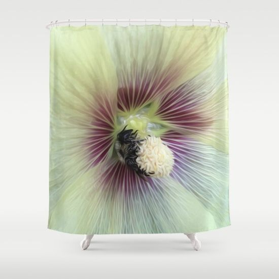 Customize Your Bathroom Decor With This Unique Bumblebee Shower Curtain Designed By Khoncepts