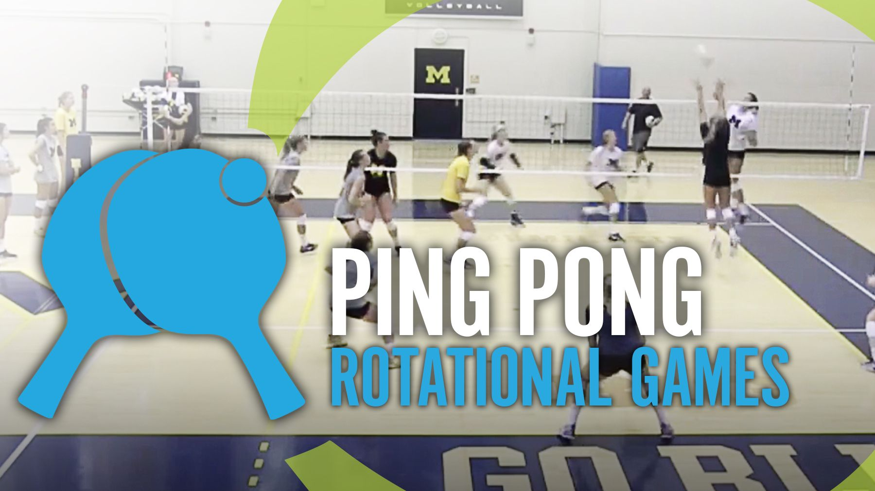 Ping Pong Rotational Games The Art Of Coaching Volleyball Coaching Volleyball Youth Volleyball Volleyball Drills