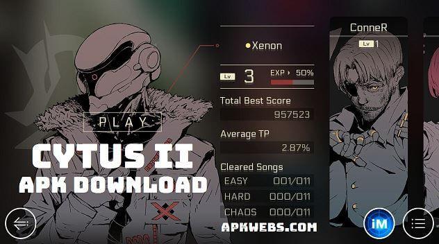 Cytus II Apk Mod Latest v2.5.0 Free Download in 2019
